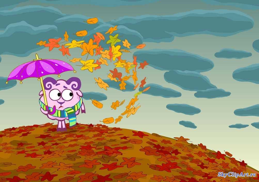 Детские лесные картинки на тему осень