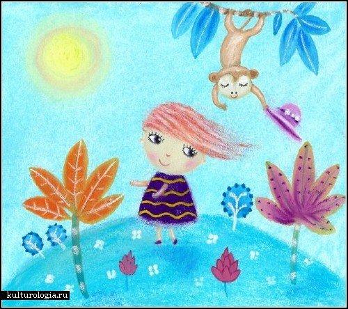 Рисунки карандашом портрет детские рисунки