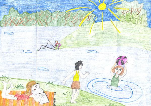 Выставка рисунков в детском саду 2015