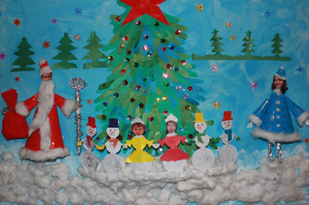 Новогодние поделки в детский сад картинки
